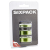"""Sixpack Spacer Kit 1 1/8"""" electric-green"""